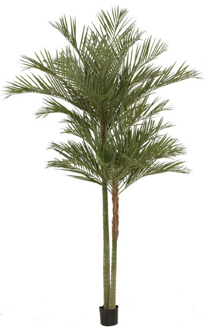 人工植物 大型人工樹 アレカパーム2本立 3.2m GD-157L(33441400)(タカショー)送料無料 観葉植物 室内用 インテリア 大型グリーンデコ パブリックスペース ロビー