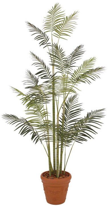人工植物 グリーンデコ ヒメヤシ 2.7m 組立式 GD-86LL(33444500)(タカショー)送料無料 人工樹 観葉植物 室内用 インテリア
