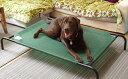 ファブリック ドッグベッド(大型犬用)ペットベッド 犬用ベッド 犬用コット 送料無料