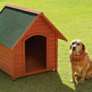 【送料無料】木製犬舎940 超小型〜大型犬用(犬小屋、ペットハウス)