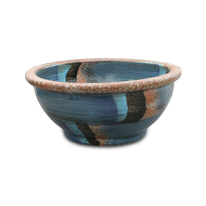 睡蓮鉢 WSB-02 ウィンドストリームブルー睡蓮 鉢