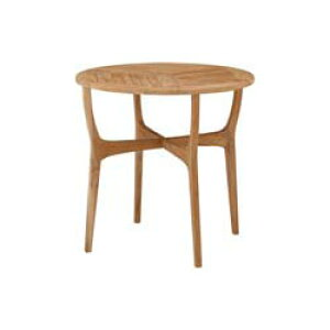 チークスタイル ロータス テーブル80TRD-248T(33887000)(タカショー)送料無料 ガーデンファニチャー ガーデンテーブル 机 天然木
