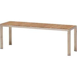 チークスタイル ライズ ベンチTRD-117C(33882500)(タカショー)送料無料 ガーデンファニチャー ガーデンベンチ ガーデンチェアー 椅子 イス 天然木