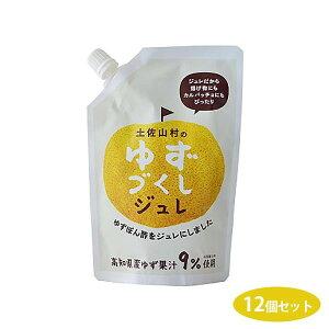 調味料 寒天 五穀酢 柚子 サラダ 揚げ物 かつおだし 手巻き寿司 柚子果汁 冷奴 旭フレッシュ ゆずづくしジュレ 180g×12個