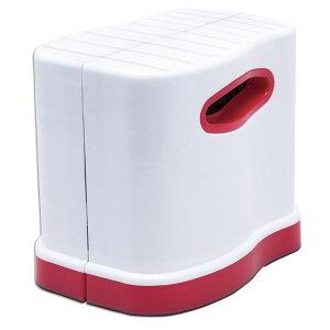 伸縮式洋式トイレ用足置き台 コンパクト サポート 姿勢 楽 力み易い 子ども 高さ調節 踏ん張り しゃがむ 足台 便意 足のせ台 和式スタイル