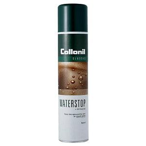 Collonil(コロニル) スムースレザー用 ウォーターストップ 防水スプレー 400ml 革 皮 ヌバック 布 合成 スウェード 靴 起毛 スムースレザー バッグ