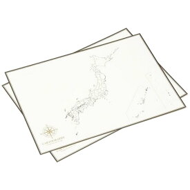大人の白地図 カルトグラフィー ポスター・A3サイズ 日本 5枚入×3セット CG-A3J