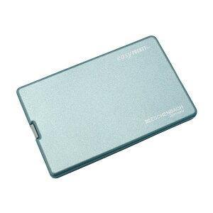 エッシェンバッハ easy POCKET(イージーポケット) ブルー (4倍) 1521-22 携帯 ポータブル コンパクト ルーペ 薄型レンズ 持運び LEDライト 拡大鏡