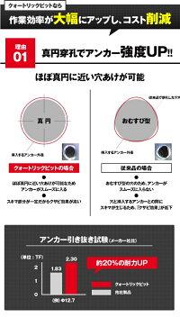 【運賃無料】フィッシャーSPSプラス(SDSplus)クォートリックドリルビット4枚刃刃先径:5mm有効長:50mm全長:110mm【SDSプラス(SDSplus)ハンマードリル用刃】