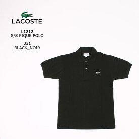 [並行輸入品] [並行輸入品] FRANCE LACOSTE (フランスラコステ) S/S PIQUE POLO - NOIR BLACK 031 フララコ ポロシャツ メンズ
