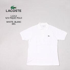 [並行輸入品] FRANCE LACOSTE (フランスラコステ) S/S PIQUE POLO - WHITE BLANC 001 フララコ ポロシャツ メンズ