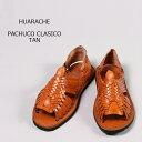 HUARACHE (ワラチ) PACHUCO CLASICO - TAN レザーサンダル メンズ