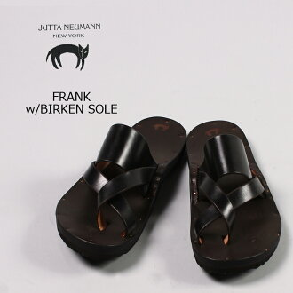 JUTTA NEUMANN(ユッタニューマン)FRANK w/BIRKEN SOLE