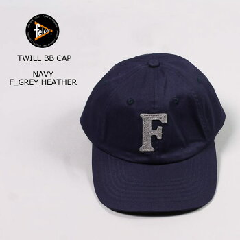 FELCO(フェルコ)TWILLBBCAP-NAVY/FGREYHEATHER