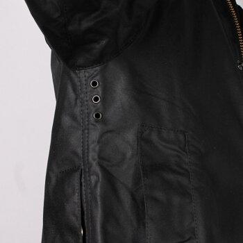 BARBOUR(バブアー)BEAUFORTWAXJACKET-BLACKビューフォートオリジナルメンズオイルドジャケット