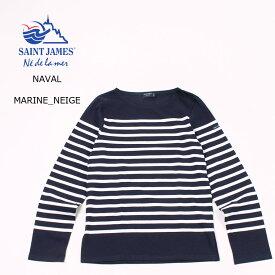 【並行輸入品】SAINT JAMES (セントジェームス) NAVAL - MARINE_NEIGE ボーダー カットソー メンズ