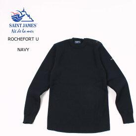 【並行輸入品】SAINT JAMES (セントジェームス) ROCHEFORT U - NAVY ニット セーター メンズ