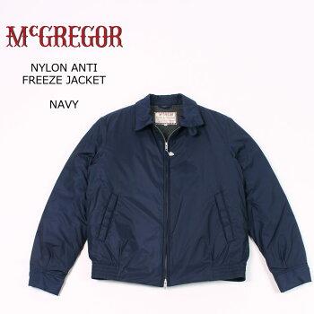 McGREGOR(マックレガー)NYLONANTIFREEZEJACKET-NAVYブルゾンメンズ