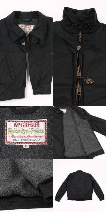 McGREGOR(マックレガー)NYLONANTIFREEZEJACKET-BLACKブルゾンメンズ