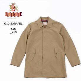 【並行輸入品】 BARACUTA (バラクータ) G10 BARAPEL - TAN ステンカラーコート メンズ