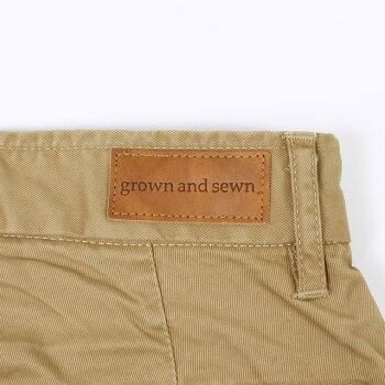GROWN&SEWN(グロウン&ソーン)INDEPENDENT-GHURKAメンズチノパンツアメリカ製