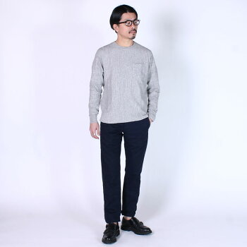 GROWN&SEWN(グロウン&ソーン)INDEPENDENT-NAVY