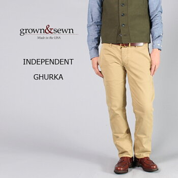 GROWN&SEWN(グロウン&ソーン)INDEPENDENT-GHURKA