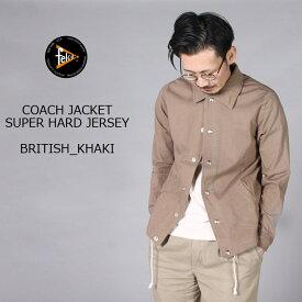 FELCO (フェルコ) COACH JACKET SUPER HARD JERSEY - BRITISH KHAKI スウェット コーチジャケット メンズ