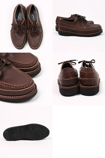 RUSSELLMOCCASIN(ラッセルモカシン)ONEIDASINGLEVAMP-CHOCOLATEOILTAN革靴メンズ
