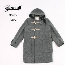 GLOVERALL (グローバーオール) MONTY - GREY モンティ ダッフルコート メンズ