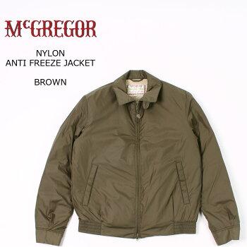 McGREGOR(マックレガー)NYLONANTIFREEZEJACKET-BROWNブルゾンメンズ