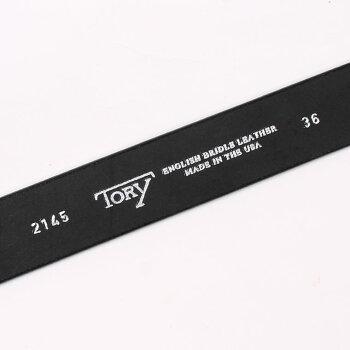 TORYLEATHER(トリーレザー)1.25INCHSTRAPBELT-BLACK_NICKELレザーベルトメンズ