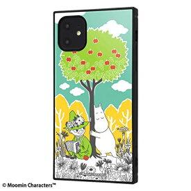 iPhone 11 ケース ムーミン 耐衝撃 ハイブリッドケース KAKU コミック3 IQ-AP21K3TB/MT011 母の日