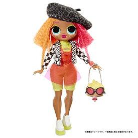 ドール L.O.L. サプライズ! O.M.G. ネオンリシャス スタンド付き 人形 ポージング ドレスアップ 女の子 プレゼント【国内販売正規品】