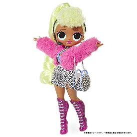 ドール L.O.L. サプライズ! O.M.G. レディ ディーバ スタンド付き 人形 ポージング ドレスアップ 女の子 プレゼント 【国内販売正規品】