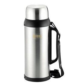 水筒 ステンレスボトル 2500ml ダブルステンレス構造 真空断熱 温度キープ 広口 リフレス 持ちやすい HB-2430 パール金属
