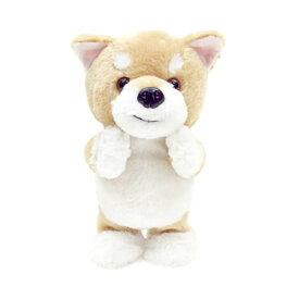 ぬいぐるみ 動く しゃべる 柴犬 犬 可愛い 喋った言葉を真似してお話 ウォーキングトーキングパピー