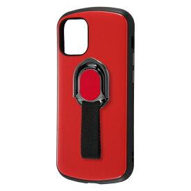 iPhone 12 mini 耐衝撃ケース ProCa+TailRing/レッド