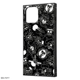 iPhone 12 Pro Max /ワンピース/耐衝撃ハイブリッドケース KAKU/海賊旗マーク
