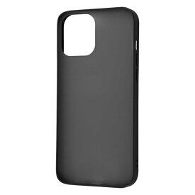 iPhone 12 Pro Max 耐衝撃マットハイブリッドケース Sarafit/ブラック