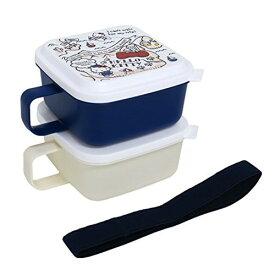 オーエスケー ハローキティ お弁当箱 マグランチボックス 仕切付 ブルー MSL-7 新生活 クリスマス