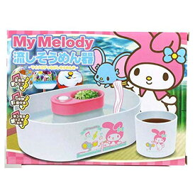 サンリオキャラクターズ 流しそうめん器 全自動タイプ つゆ鉢1個付き マイメロディ