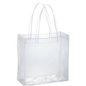透明バッグ クリアバッグ トートバッグ 大容量Lサイズ 透明ビニール 幅35 高さ35 マチ15cm CB-3535 痛バッグ