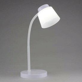 DS-LS06-W LED調光式デスクランプ ホワイト OHM(オーム電機)