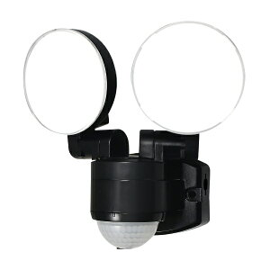 ESL-SS412AC_1957800_屋外用LEDセンサーライト AC電源 コンセント式 2灯_ELPA(エルパ・朝日電器)