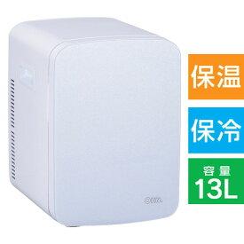 08-1109_KAJ-R135R-W_【ポータブル電子式】保冷保温ボックス(13L)_OHM オーム電機