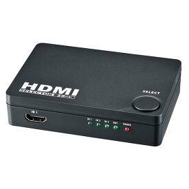 3ポート HDMIセレクター_05-0576_AV-S03S-K_OHM オーム電機