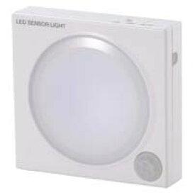 NIT-L101B-W_07-8111_屋内用 人感センサーライト ホワイト:常時点灯可_OHM(オーム電機)