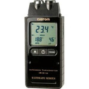IR-01U_赤外線放射温度計(レーザーポイント付)_CUSTOM(カスタム)