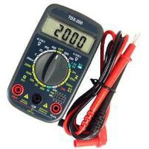 TDX-200_04-1855_デジタルマルチテスター_OHM(オーム電機)